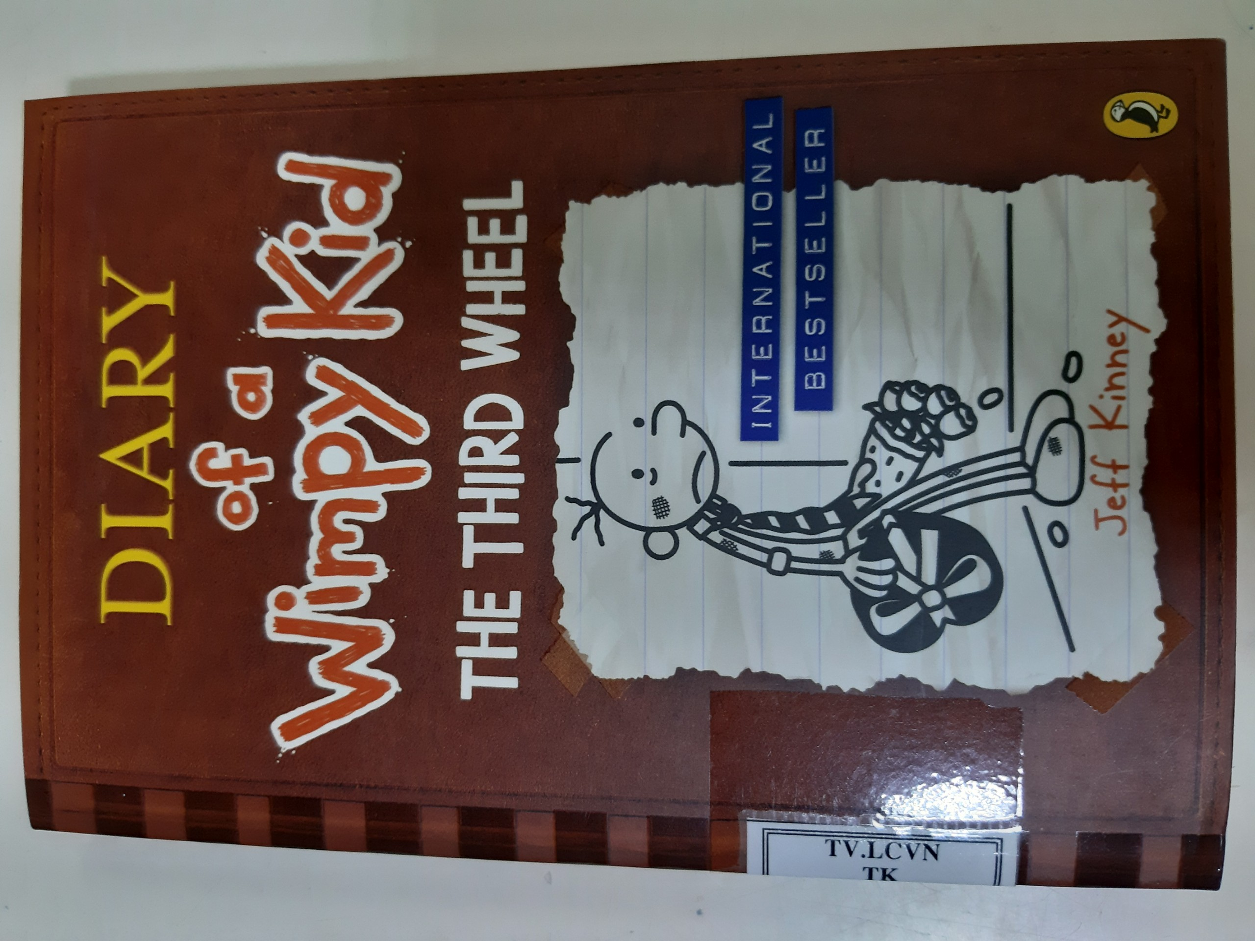 Diary of a Wimpy Kid 7: The Third Wheel Book PB