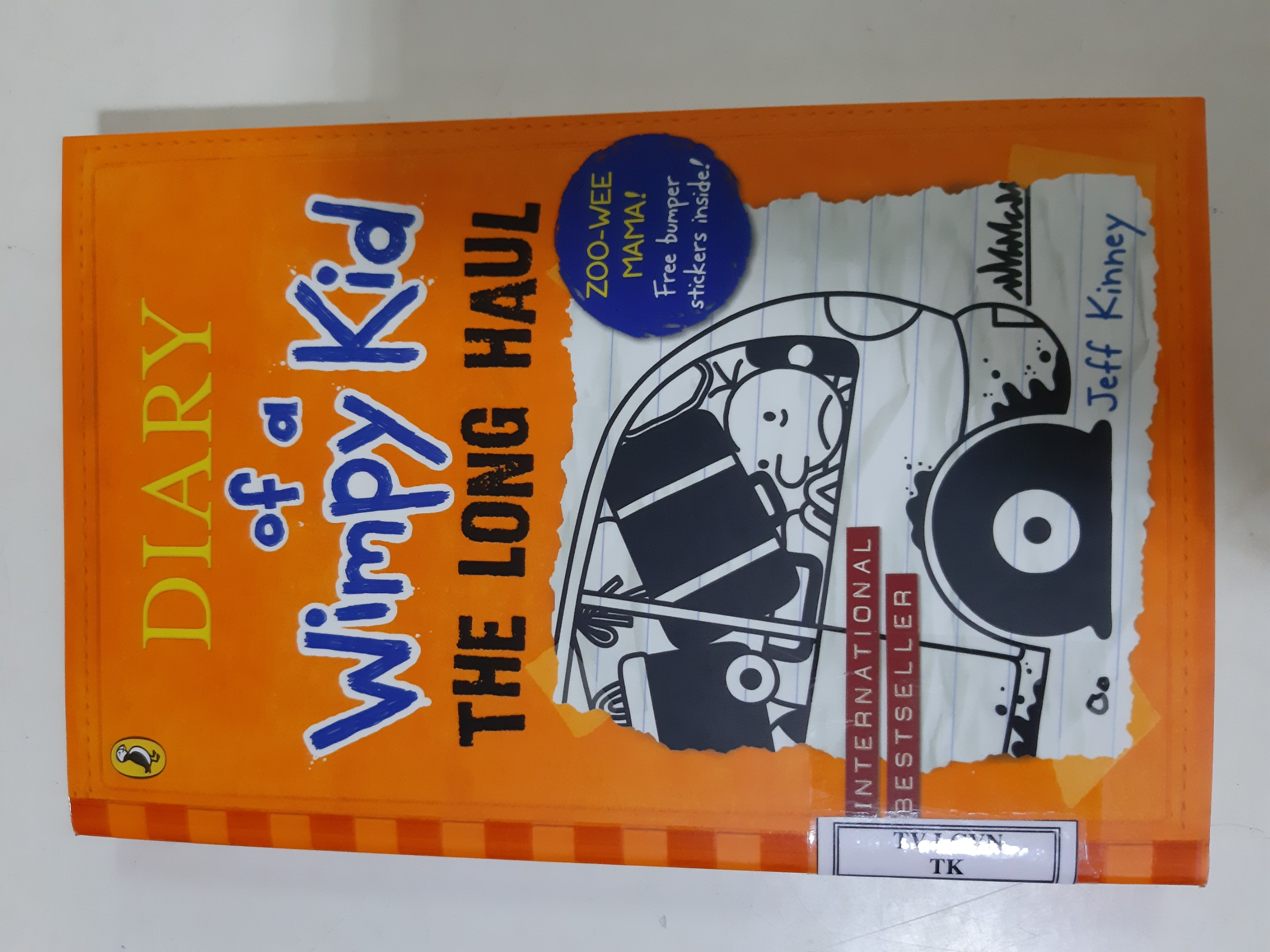 Diary of a Wimpy Kid 9: The Long Haul Book HB